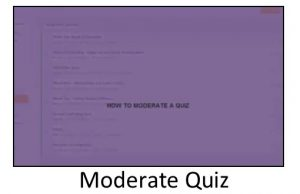 Moderate Quiz Video