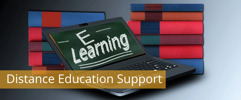 Distance Education Support