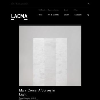 LACMA Website Thumbnail