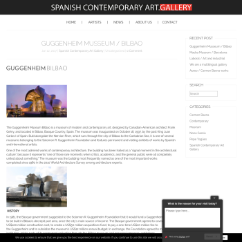 Spanish contemporary art gallery thumbnail