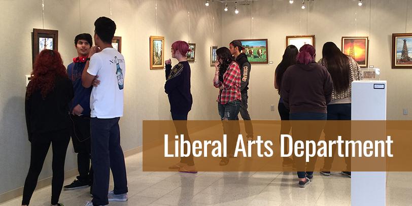 Liberal Arts department - Art Gallery