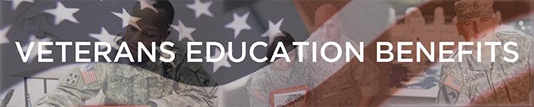 Veterans Education Benefits banner