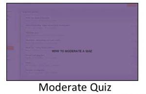 Moderate Quiz Video