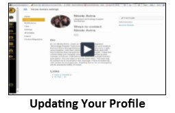 Updating your profile video