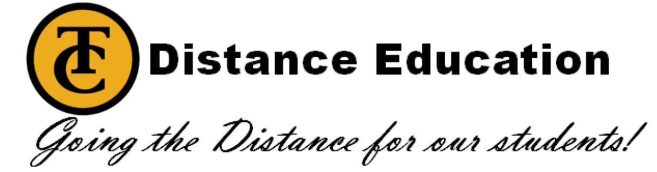 Taft College Distance Education, Going the distance for our students.