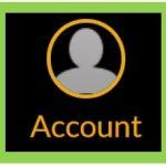 Canvas Account tab