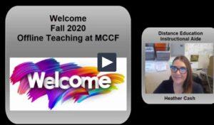 Welcome Offline Faculty Video