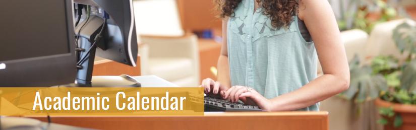 Academic Calendar Banner