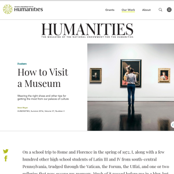 How to visit a Museum.