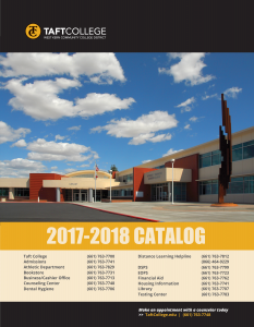 2017-18 Course Catalog Cover