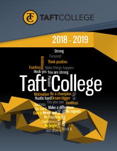 2018-19 Course Catalog Cover