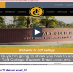Link to Video explaining the login process for the student email system.
