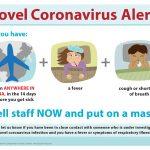 corona virus alert image.